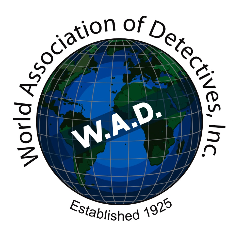 We've become members of World Association of Detectives